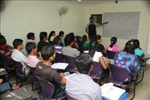 Teacher Students in Class Room